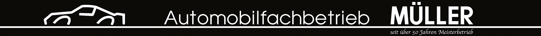 Automobilfachbetrieb Müller Logo